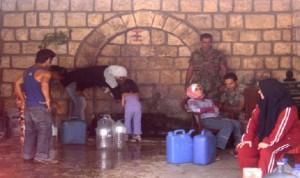 بنت جبيل تنتفض على الفساد في توزيع المياه