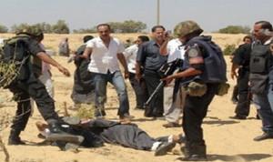 مقتل إرهابي وتوقيف 16 في شمال سيناء