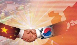 مفاوضات اتفاقية التجارة الحرة بين سول وبكين