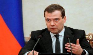 """مدفيديف: روسيا وفنلندا ستواصلان التعاون ضمن مشروع الغاز """"السيل الشمالي -2"""""""