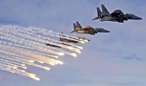 مقاتلات التحالف تدك قواعد عسكرية لميليشيا الحوثي بصنعاء