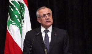 سليمان: أسرع طريقة لسحب الثقة من وزير هي انتخاب رئيس