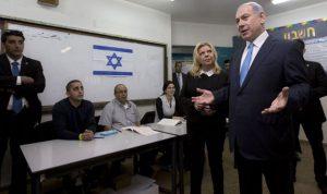 النتائج الأولية لانتخابات إسرائيل تظهر فوز نتنياهو