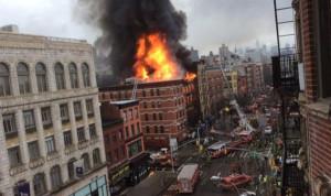 19 جريحاً بإنفجار في نيويورك