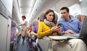 """طيران الإمارات: 106 طائرات توفر """"إنترنت واي فاي"""""""
