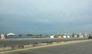 قطع الطريق الدولية في الميناء بالاتجاهين