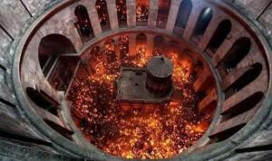 شعلة النور المقدس تصل السبت الى بيروت