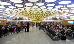 زيادة حركة المسافرين عبر مطارات ابوظبي بنسبة 21% الى 5.5 مليون مسافر