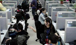 توترات متزايدة في سوق العمل الصينية