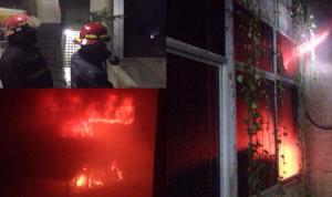 بالصور.. حريق في جامعة الروح القدس – الكسليك