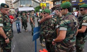 الجيش: توقيف أشخاص في جورة البلوط وتعنايل