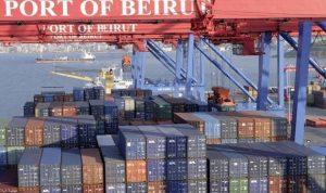 مرفأ بيروت يسجل رقماً قياسياً في حركة الحاويات برسم الاستهلاك المحلي