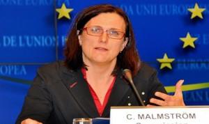 مقترح جديد تعده المفوضة التجارية الأوروبية بشأن بنود حماية الاستثمار في اتفاقية التجارة الحرة مع أمريكا