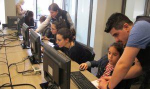 الشباب السوري اللاجىء يبني مستقبله بالتكنولوجيا