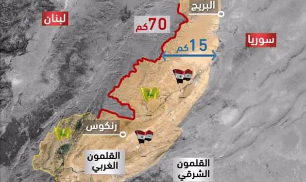 """""""حزب الله"""" يحاكي في القلمون … معركة """"اصبع الجليل"""""""