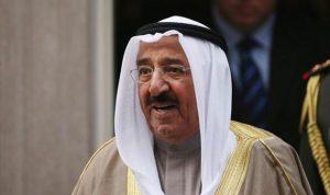 أمير الكويت تلقى اتصالا من ميركل