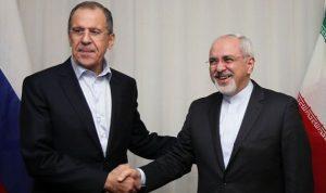 لافروف يبحث مع ظريف الاتفاق النووي الإيراني