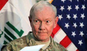 رئيس أركان الجيش الأميركي: القوات العراقية خرجت طوعًا من الرمادي