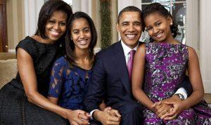 ابنتا أوباما يريدان لقاء ميسي!