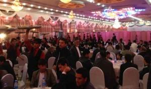 قانون يصادر البذخ في حفلات الزفاف بأفغانستان