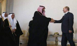 """الكرملين: بوتين بحث مع ولي العهد السعودي قضية """"أوبك+"""""""