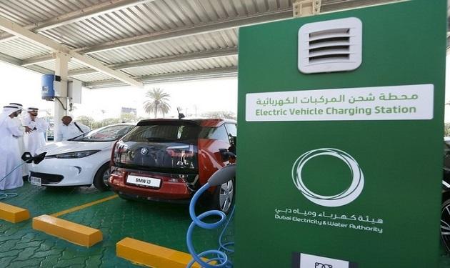 ElectricCarChargingStation-Dubai-UAE