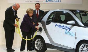 المانيا: إعفاء ضريبي للسيارات الكهربائية لتعزيز الطلب عليها