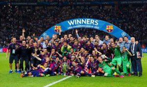 برشلونة وفرسانه الثلاثة أبطال أوروبا بثلاثيّة تاريخيّة