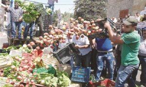 مزارعو البقاع يعتصمون