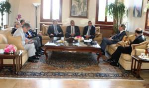 """وفد """"القوات"""" من بكفيا: منصب رئاسة الجمهورية يخص جميع اللبنانيين"""