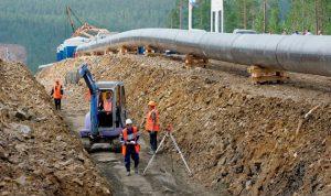 """أطلقت الصين عملية بناء خط غاز """"قوة سيبيريا"""" على أراضيها"""