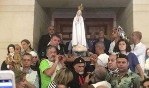 بالصور..  لبنان مكّرسًا في قلب العذراء فاطيما!