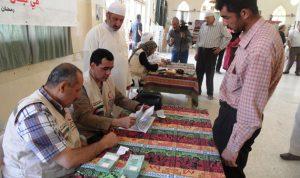 سفارة الإمارات توزع زكاة الفطر في بعلبك