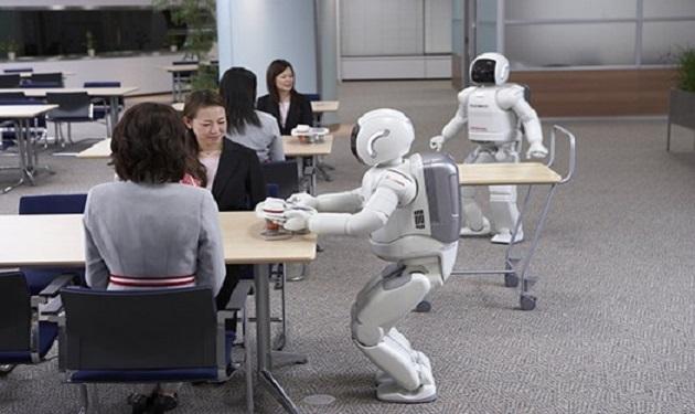 Japan-Hotel-Robot-Servers