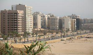 1200 شقة فارغة على الخط البحري وبناء مكاتب في مناطق سكنية