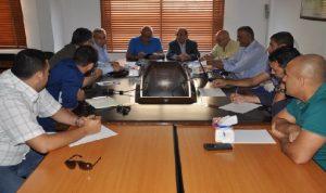 لقاء في اتحاد بلديات قضاء صور حول تطوير معمل فرز النفايات في عين بعال