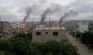 غارة إسرائيلية جديدة على قطاع غزة