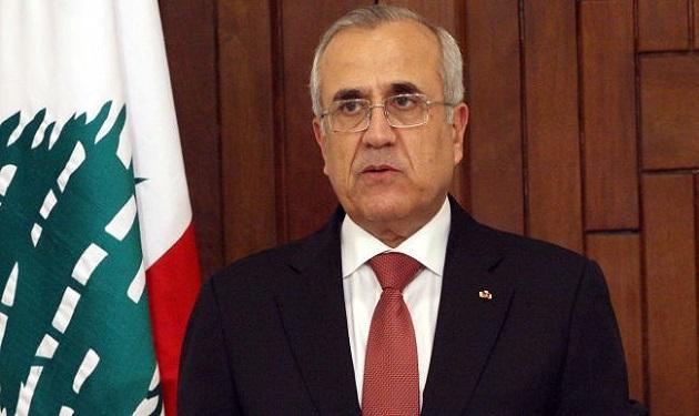 سليمان: وحدة اللبنانيين حول رفض التوطين أقوى سلاح