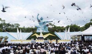 """اليابان في ذكرى """"ناغازاكي"""": نتعهّد بعدم امتلاك أسلحة نووية"""