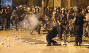 """بالفيديو.. """"كلام بمحلو"""": مع 191 جريح من قوى الأمن مين عم يعامل مين بوحشية بالتظاهرات؟"""