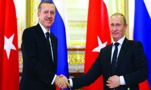 أردوغان يستقبل بوتين في أنقرة
