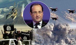 """فرنسا تشنّ ضربات جوّية على """"داعش"""" في سوريا"""