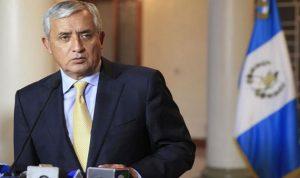 أمر قضائي باعتقال رئيس غواتيمالا لمحاكمته في قضية فساد