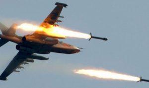 قصف روسي عنيف يستهدف مجموعة معارضة في سوريا
