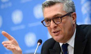 الأمم المتحدة تعين الإيطالي غراندي رئيسًا جديدًا لوكالة اللاجئين