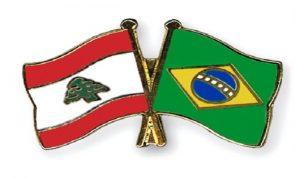 بحث فتح خط طيران جوي مباشر بين لبنان والبرازيل