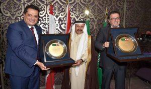 تكريم عسيري وشقير لدورهما في تعزيز العلاقات الاقتصادية اللبنانية السعودية