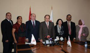 وزير العمل التقى سفراء وقناصل دول لها عاملات في الخدمة المنزلية في لبنان