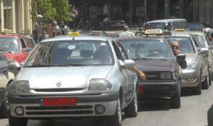 نقابات النقل البري لجبل لبنان الجنوبي تضرب عن العمل