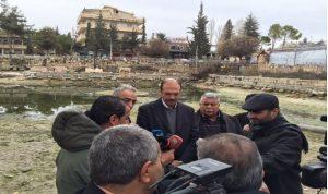 بلدية بعلبك: لتتحمل مصلحة مياه البقاع مسؤولية بحيرة البياضة